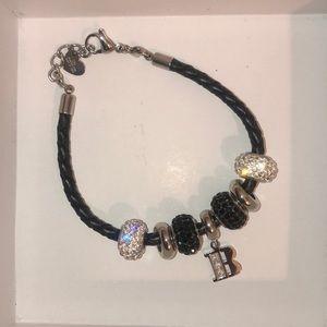initial B bracelet